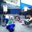 St. Paul, Midway Stadium, in line