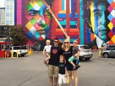 Steichens at the Bob mural