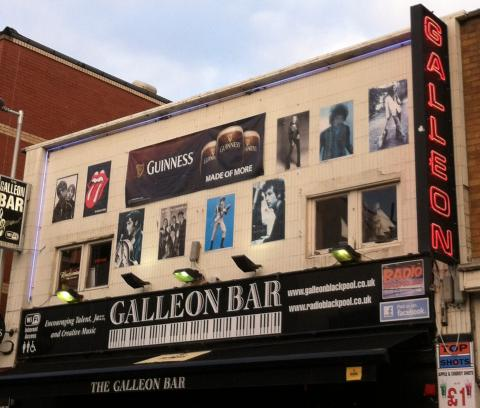 The Galleon Bar in Blackpool