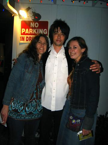Caroline and Kait with Jackie Greene